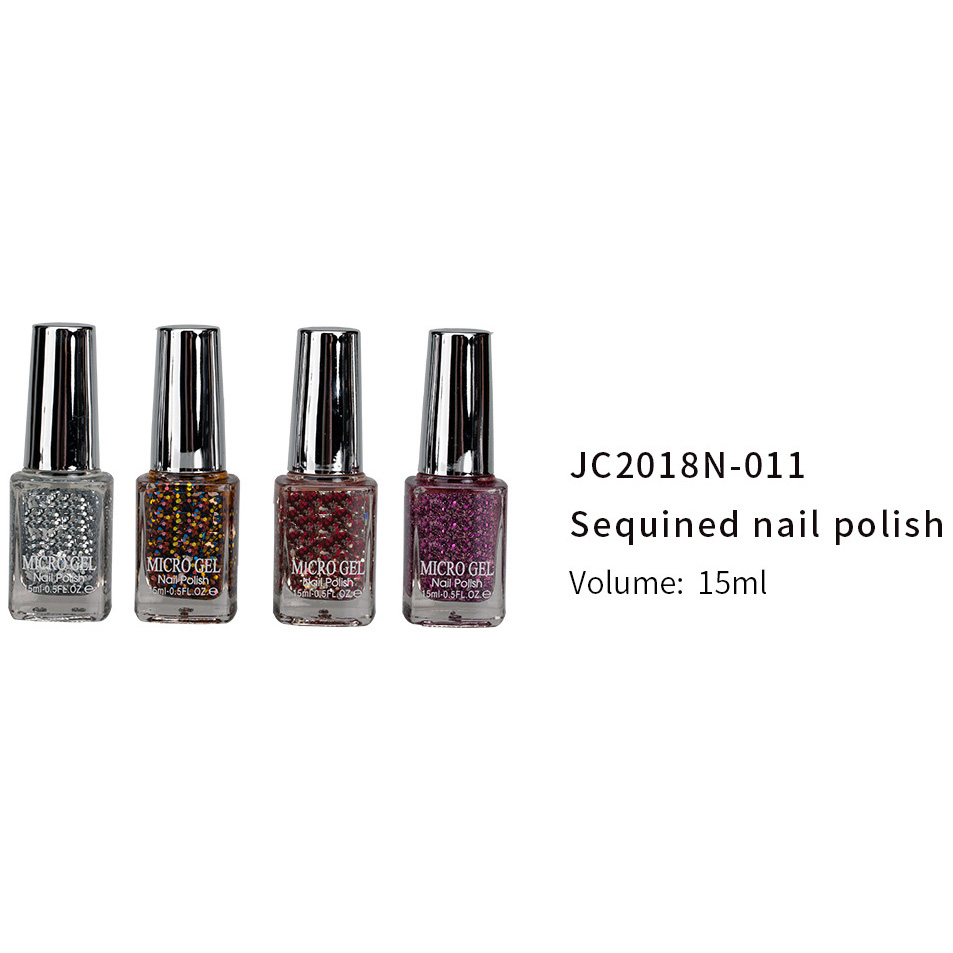 China Gold Supplier for 16 In 1 Manicure Set - GEL POLISH(JC2018N-011) – Rainbow detail pictures