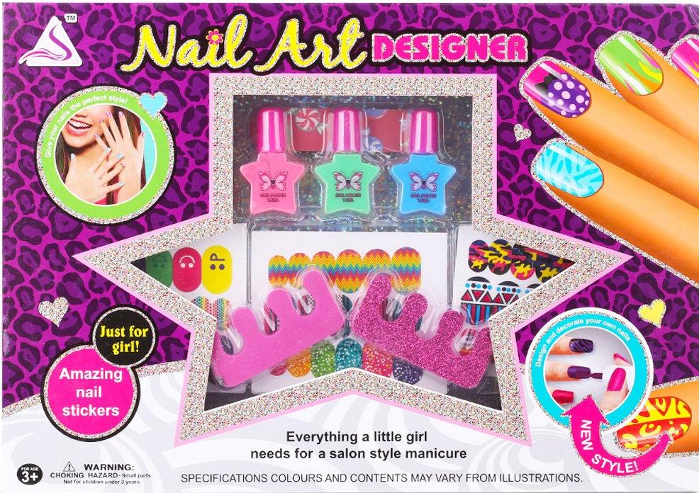 Designed Nail Art Kits For Girls