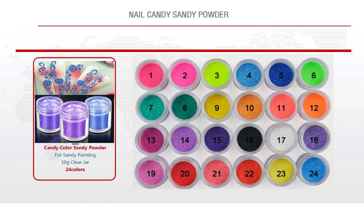 Nail Candy Sandy Powder