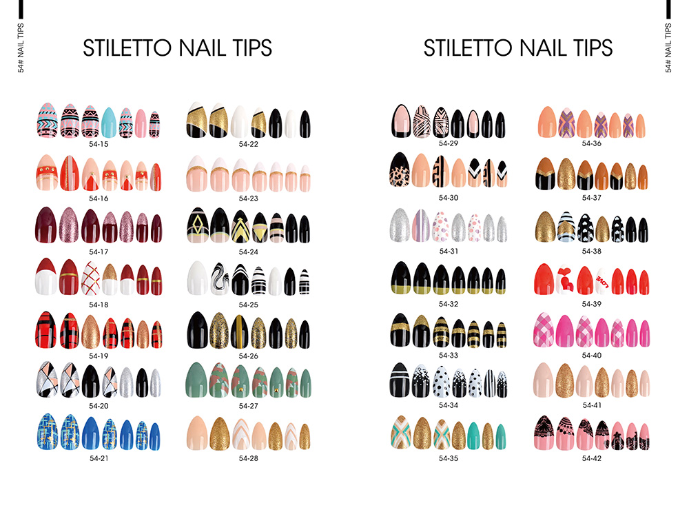 STILETTO FALSE NAIL TIPS