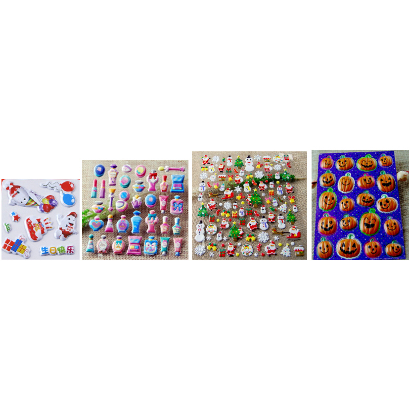 Discount Price Top-selling Makup Market - BUBBLE STICKERS – Rainbow detail pictures