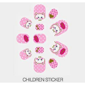 OEM Customized Colorful Nail Foil Sticker Decals -