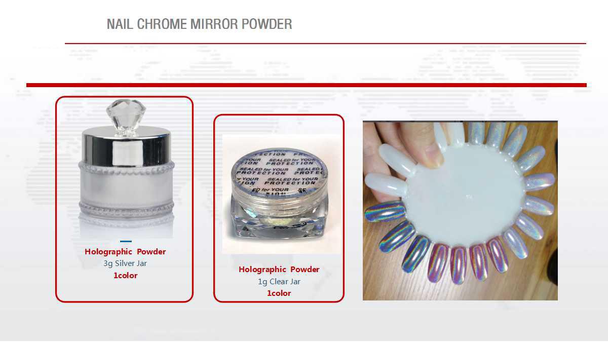 Nail Chrome Mirror Powder