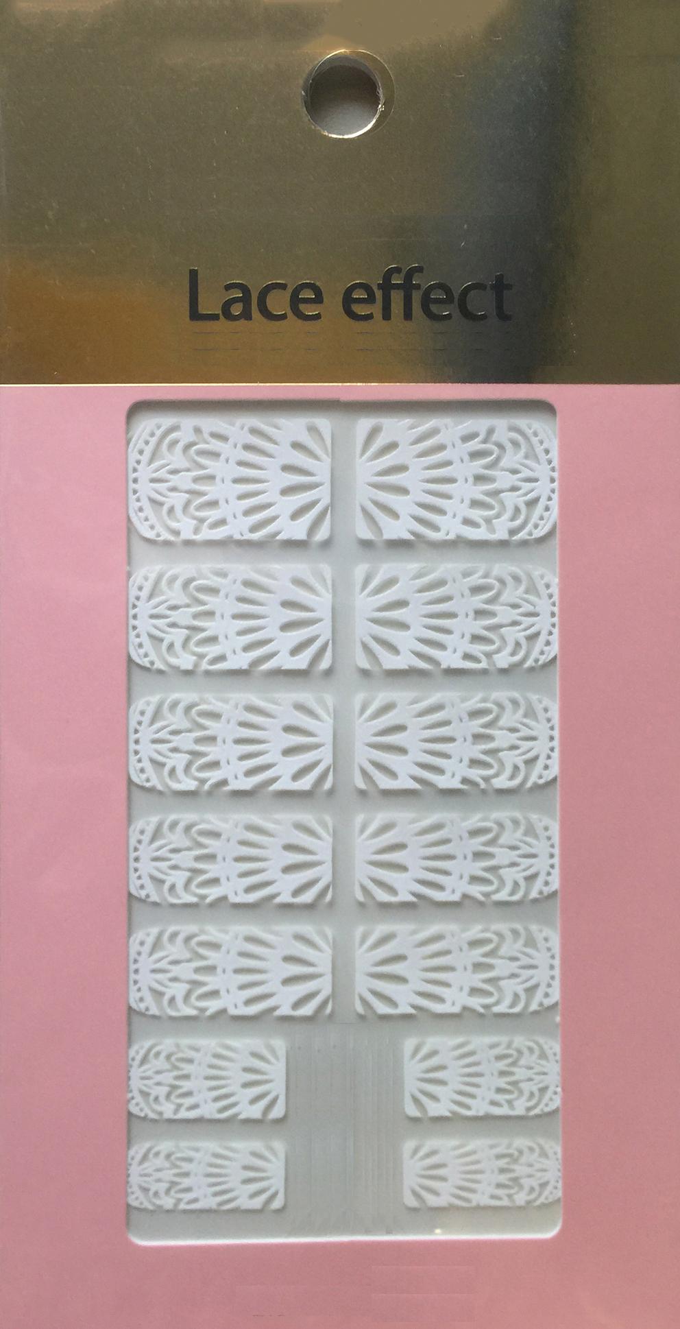 Lace nail sticker