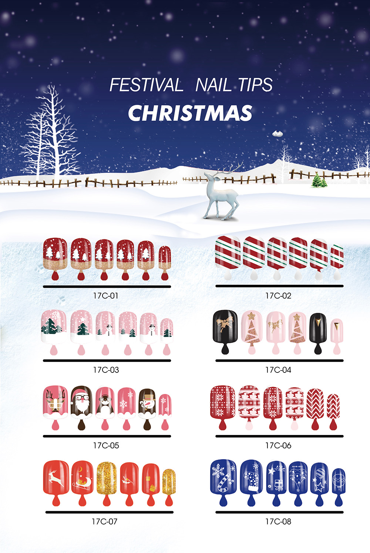 CHRISTMAS NAIL TIPS