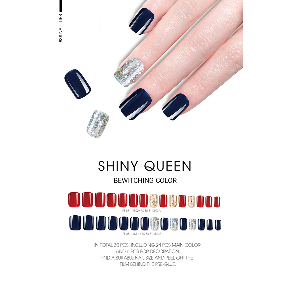 SHINY QUEEN NAIL TIPS