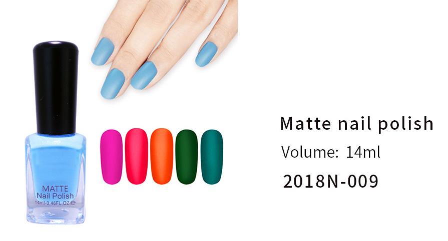 Matte Nail Polish(2018N-009)