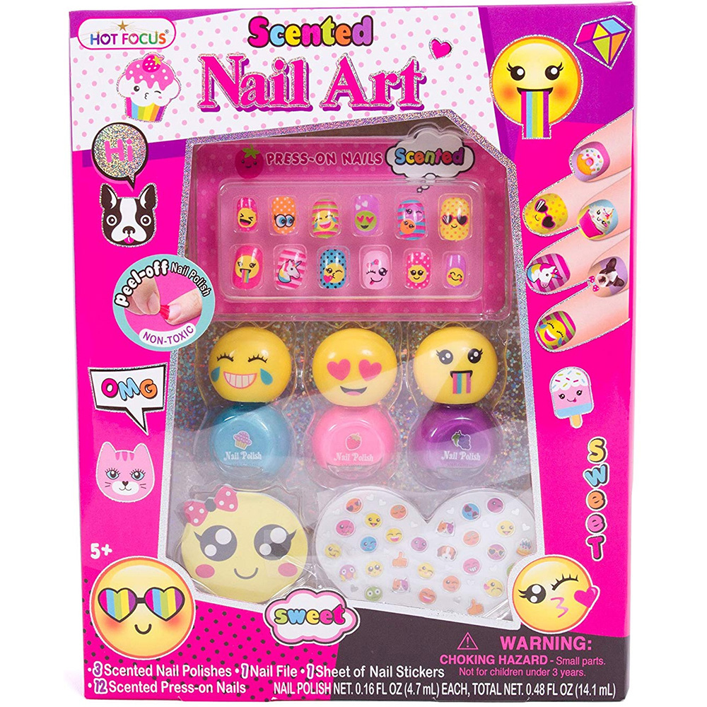Wholesale Harmless Kids Nail Tips -