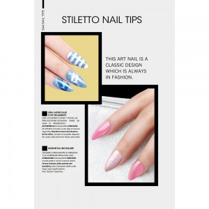 STILETTO NAIL TIPS Picture 1