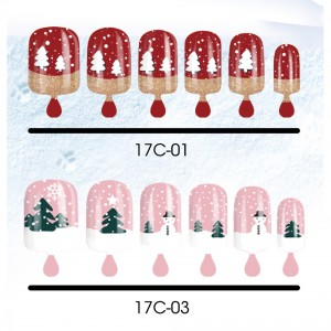 CHRISTMAS NAIL TIPS Picture 1