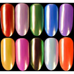NAIL NEON SHELL POWDER