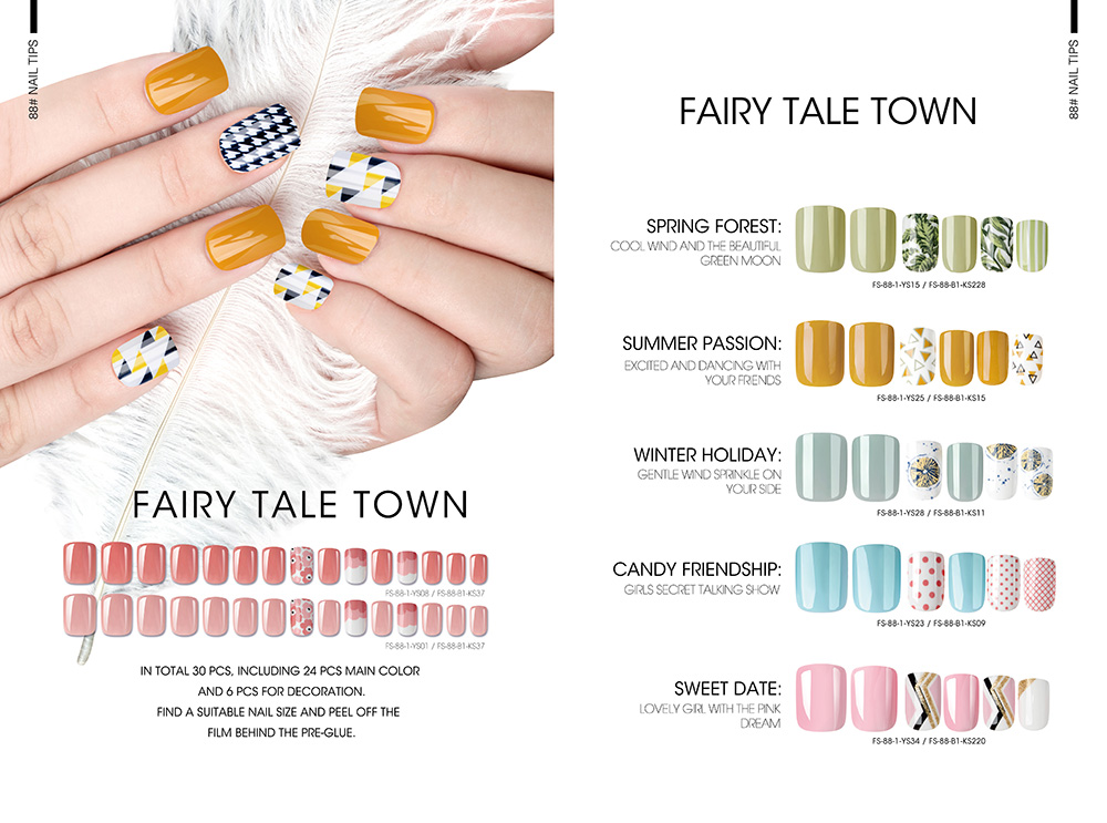 FAIRY TALE TOWN NAIL TIPS