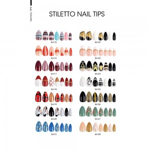 STILETTO FALSE NAIL TIPS Picture 1