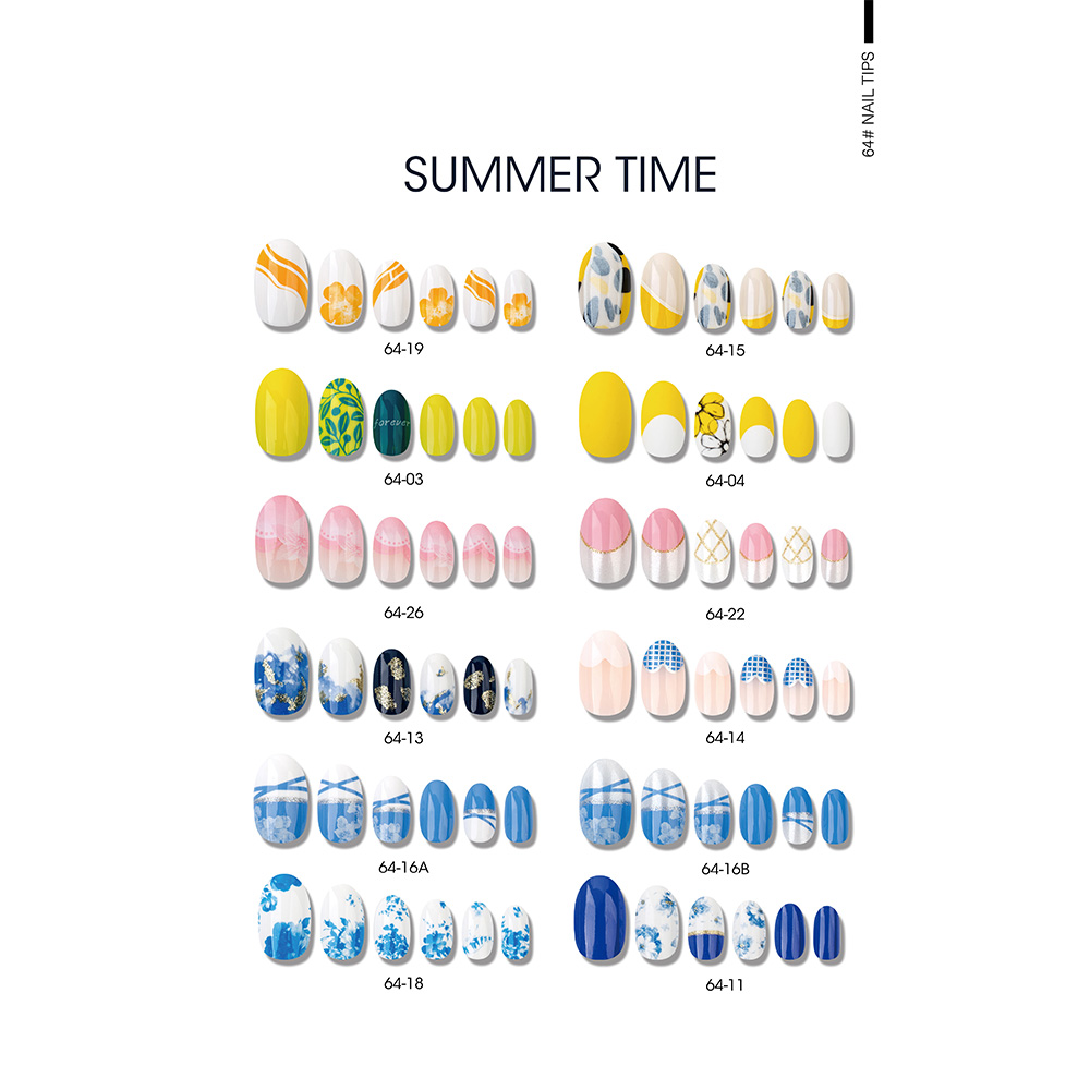 Factory Free sample Colorful Sticker 3d Nail Art Charm -