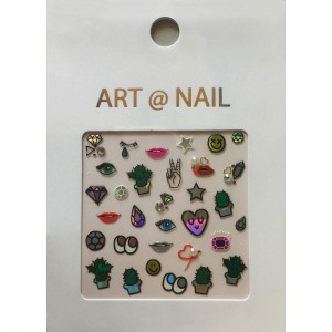China Cheap price Custom Nail Stickers -
