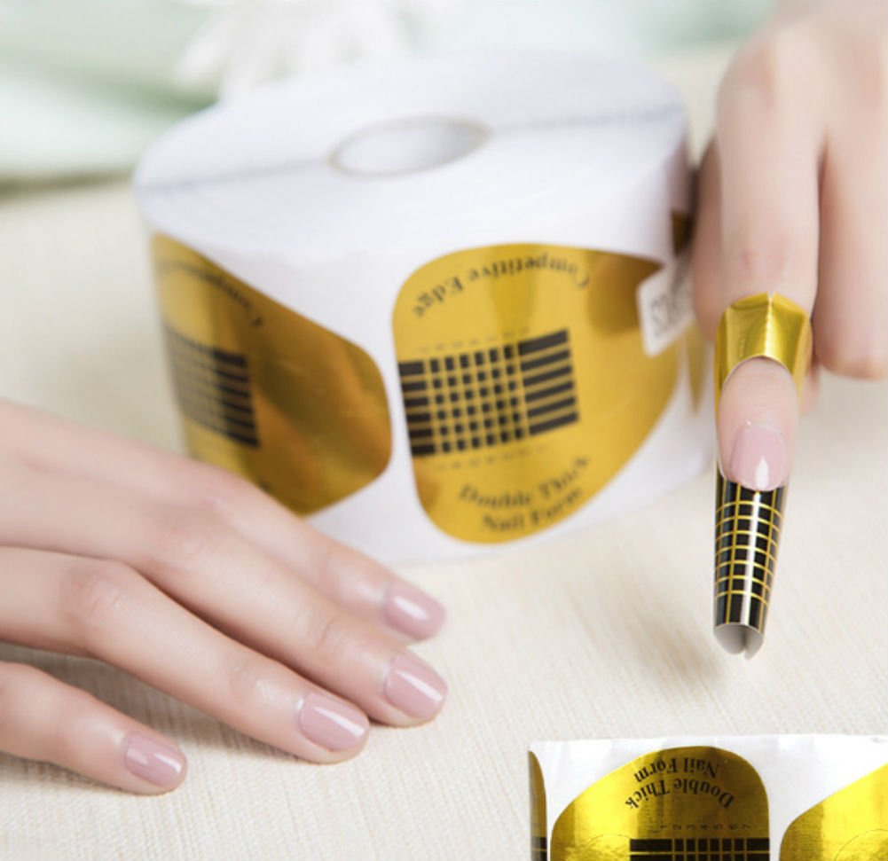 Roll of Form 100pcs Nail Stickers