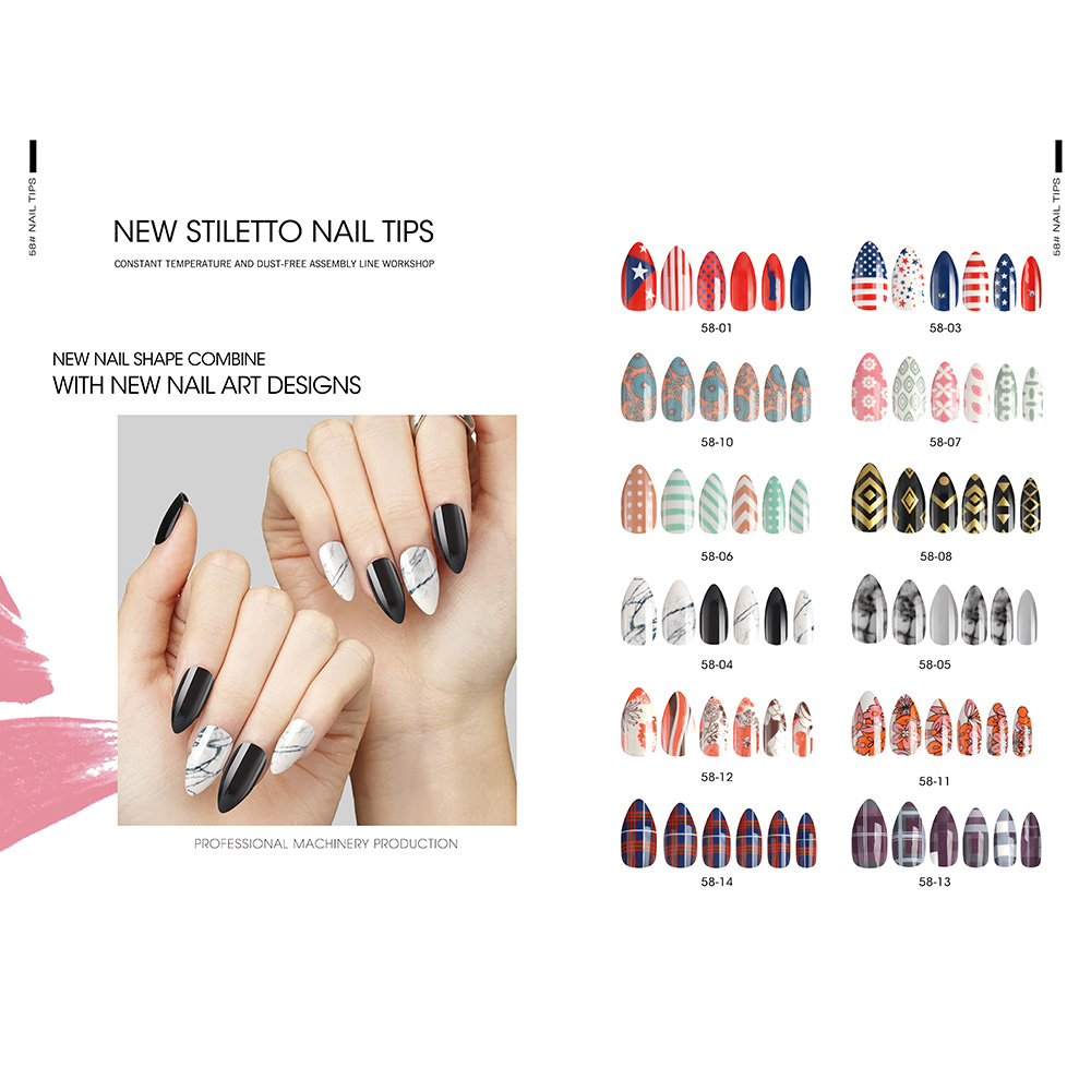 Factory For Oval Fake Nails False Nail Tips -