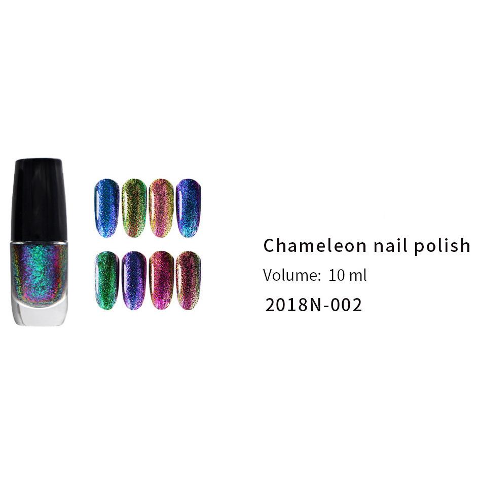 Discountable price Polish Sticker Wraps - CHAMELEON NAIL POLISH(2018N-002) – Rainbow detail pictures