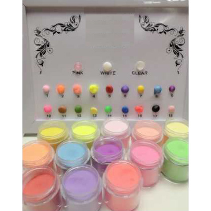 Factory Free sample Chrome Mirror Pigment Powder - ACRYLIC POWDER NAIL – Rainbow detail pictures